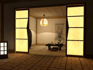 Japanese house interior 01