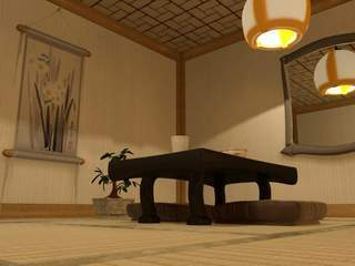 Japanese house interior 03