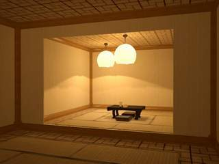 Japanese house interior 09