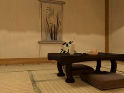Japanese house interior